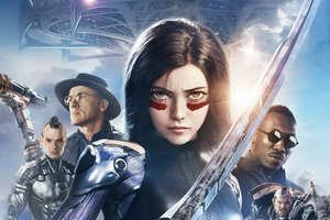 The Alita Battle Angel 4k New 2019 Wallpaper