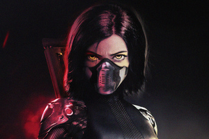 The Alita Battle Angel 4k New Wallpaper