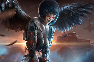 The Alita Battle Angel 4kart Wallpaper