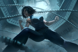 The Alita Battle Angel Art