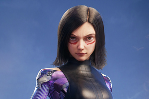 The Alita Battle Angel Art4k Wallpaper
