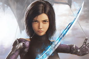 The Alita Battle Angel Artwork