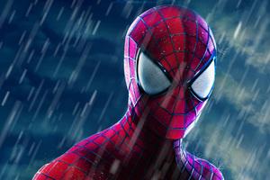 The Amazing Spider Man Closeup