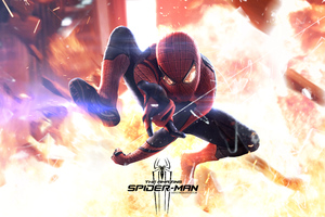 The Amazing Spiderman New Reflection 4k