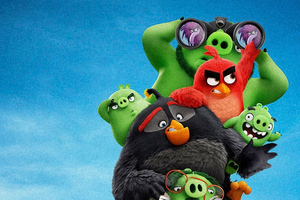 The Angry Birds Movie 2 5k