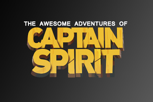 The Awesome Adventures Of Captain Spirit Logo