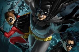 The Bat Family 4k 2020 Wallpaper
