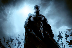 The Bat Man 2020 Wallpaper