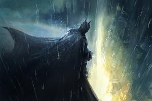 The Bat Man Art