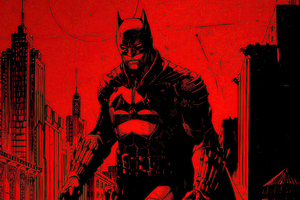 The Batman 2021 4k Wallpaper