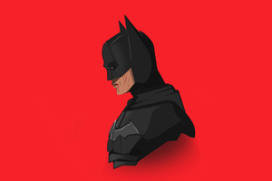 The Batman 2021 4k Minimalism