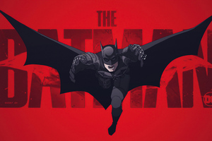 The Batman 2021 Artwork New