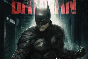The Batman 2022 Poster Wallpaper