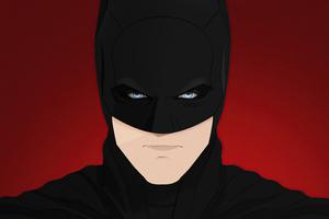 The Batman 8k Minimal Wallpaper