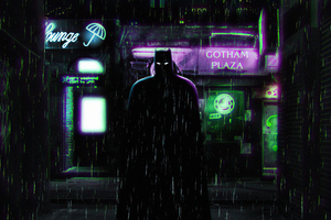 The Batman Alleyway 4k Wallpaper