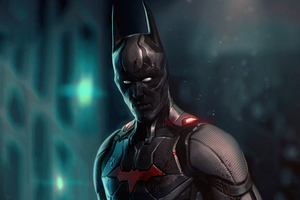 The Batman Beyond 5k Wallpaper