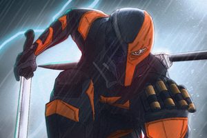 The Batman Deathstroke Wallpaper