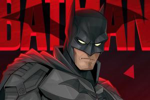 The Batman Fan Made Art Wallpaper