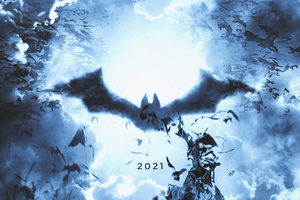 The Batman Logo 2021 Wallpaper