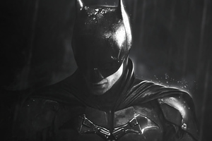 The Batman Monochrome