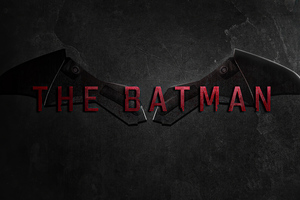 The Batman Movie Logo 4k
