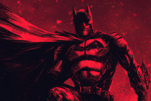 The Batman Red 4k 2020