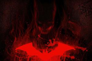 The Batman Red 4k