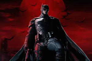 The Batman Robbert Pattinson Comic Art 5k Wallpaper
