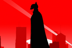 The Batman Robert Pattinson Minimal Poster 5k Wallpaper