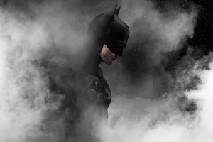 The Batman Smoky Wallpaper