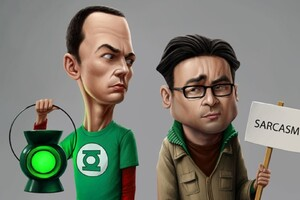 The Big Bang Theory Sarcasm Wallpaper