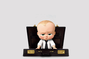 The Boss Baby Animated Movie 2017 Wallpaper