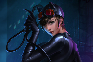 The Catwoman 5k Wallpaper