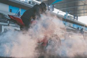 The Crew 2 Ducati Panigale R Burnout 4k