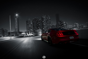 The Crew 2 Ford Mustang Rear Lights 4k
