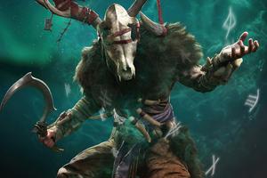 The Cursed Child Of Danu Assassins Creed Valhalla 5k Wallpaper