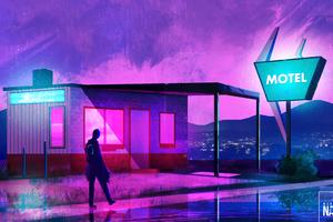 The Cyberpunk Hotel 4k