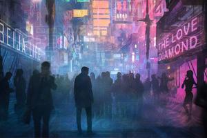 The Cyberpunk Street