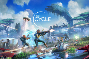 The Cycle Season 2 Crescent Falls Key Art 5k Wallpaper