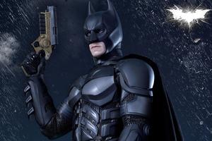 The Dark Knight 4k Digital Art
