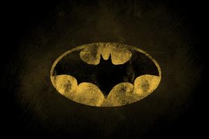 The Dark Knight Logo Wallpaper