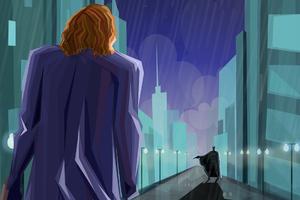 The Dark Knight Movie Art