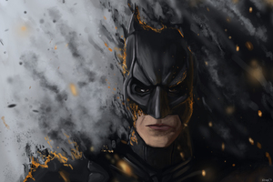 The Dark Knight New Artwork