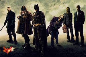 The Dark Knight Trilogy Art