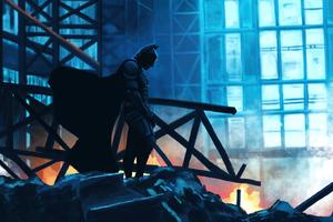 The Dark Knight Vigilantes 8k Wallpaper