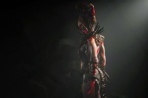 The Dark Side Shadow Of The Tomb Raider Wallpaper