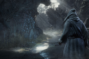 The Dark Souls Video Game Wallpaper