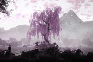 The Dead Tree Of Ranchiuna Wallpaper