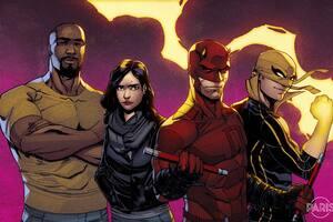 The Defenders Comics Artwork 8k Wallpaper