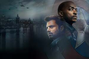 The Falcon And The Winter Soldier 2021 4k Wallpaper